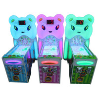 The newest arcade candy bear rolling ball lottery tickets game machine for sale