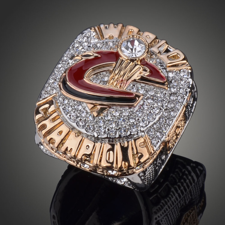 Boutique Fans Basketball Championship Ring Cleveland Cavaliers MVP LeBron James Replica Champions Rings