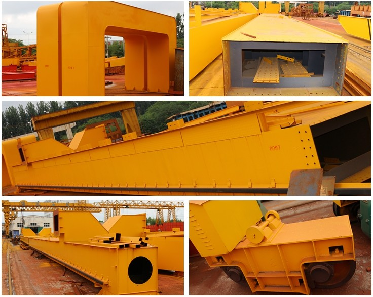 Best price high efficiency double girder 80 ton gantry crane