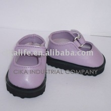 18 inch hot sale patterns doll shoes factory