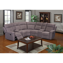 Modern new design corner sectional sofa set recliner sofa