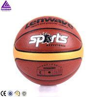 Factory directly sale custom logo printed offcial size 7# PU leather basketball