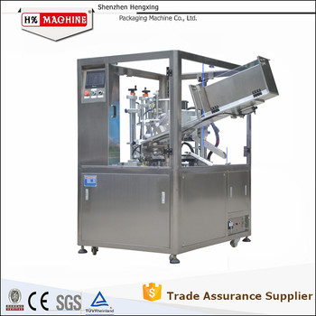 Cosmetic Tube Filling Sealing Machine