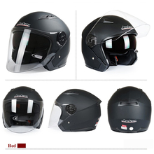 New Design Hot Sale Glossy Black Double Visors Modular Open Face Motorcycle Full Helmet JK-512