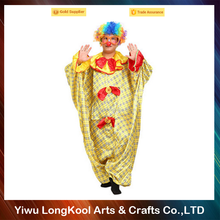 High quality professional costume photos clowns adult party clown costume with rainbow wig