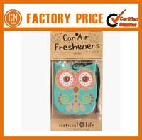 Hanging Paper Auto Fresheners Customer Smell