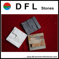 Natural slate for random tiles pattern