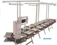 CONVEYOR FOR STITCHING PROCESS OF SHOES
