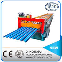 XDL-780 Sheet Metal Arch Roof Tile Making Machine