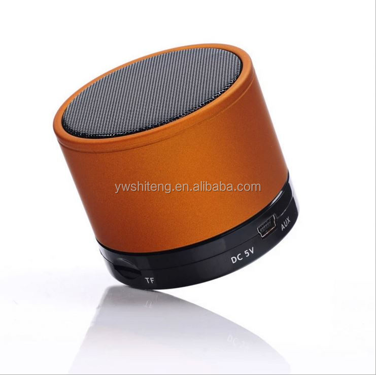 2017 New green fashion portable bluetooth cara membuat speaker aktif mini