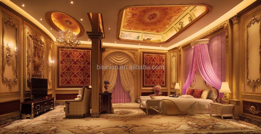 Professional 3D Architectural And Interior Rendering Service For European Palace Villa