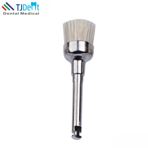 Dental Disposable Nylon Flat Prophy Brushes