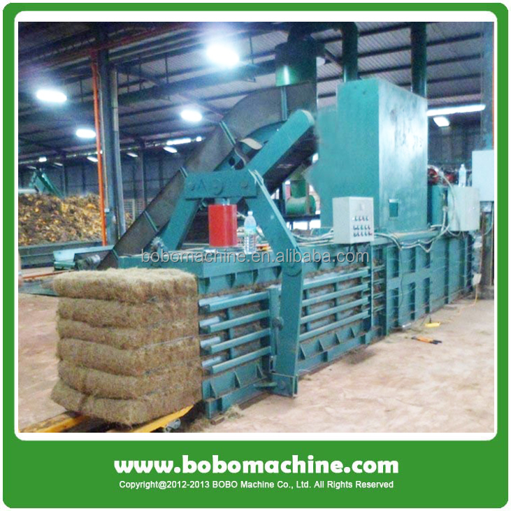 Full automatic alfalfa hay baler press