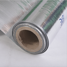 Aluminum foil kraft paper vapor barrier film,aluminum foil woven Thermal insulation fabric radiant barrier foil