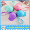 Waterproof Cap Shape Kids gift Mini Silicone Change Coin Purses Wholesale