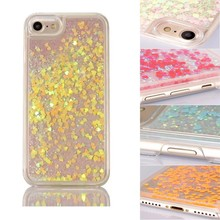 for iPhone 7 Case Glitter Liquid Quicksand Shining Glitter Phone Cover for Apple Iphone 7 7 Plus
