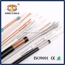 75 ohm coaxial cable best price RG58 RG59 RG6 RG11 RG213 KX6(ROHS,UL,CE,ISO9001 Approved)