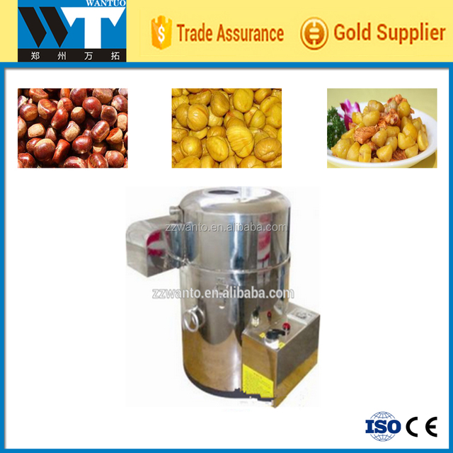 Mini Low cost chestnut shelling machine,chestnut shell removing machine