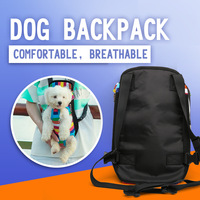 Factory Wholesale Travelling Outdoor Walking Dog Backpack Pet Bag