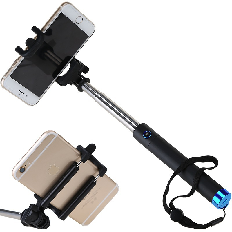Extendable Foldable Portable Mini bluetooth selfie stick