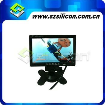 64G 7inch HDMI digital car monitor with recording function