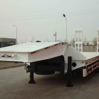 SINOTRUK Low Bed Trailer QDZ9650TD