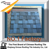 ONICES Fiberglass Asphalt shingle, New Zealand Technology Colorul Stone Coated Metal Roofing Sheet