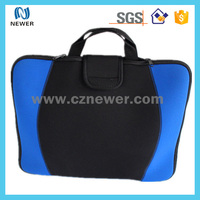 Neoprene laptop sleeve with handle for student