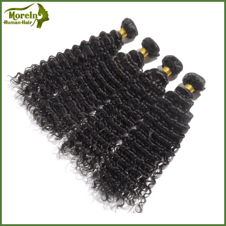 Wholesale factory price Brazilian hair 100% deep wave human hair