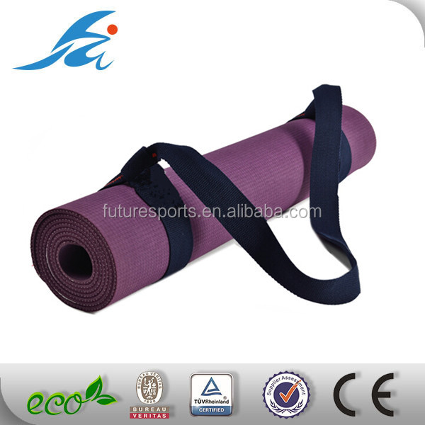 private label Yoga Mat Strap Sling Made With The Best, Durable Cotton