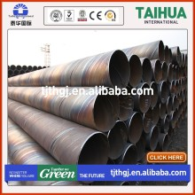 SSAW water pipe api 5l x52 sch80 steel pipe ssaw welded spiral steel pipe