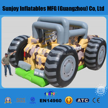 Factory price pvc inflatable monster truck bounce house for sale