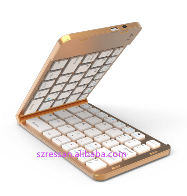 Laptop Accessories Mini Light Best Gift Bluetooth Folding Smart Phone Keyboard