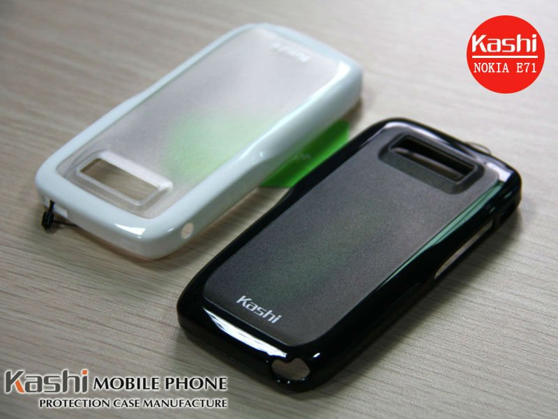 TPU+PC Nice Protection Case for NOKIA E71