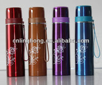 2014 hot sale new design vacuum bullet type plastic water bottle