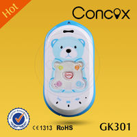 Cellphone gps odm manufacture of Concox GK301 support 4 family numbers.