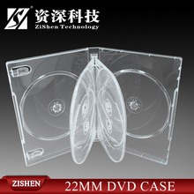 Clear 6 Disc Dvd Case For Muti Disc Packing