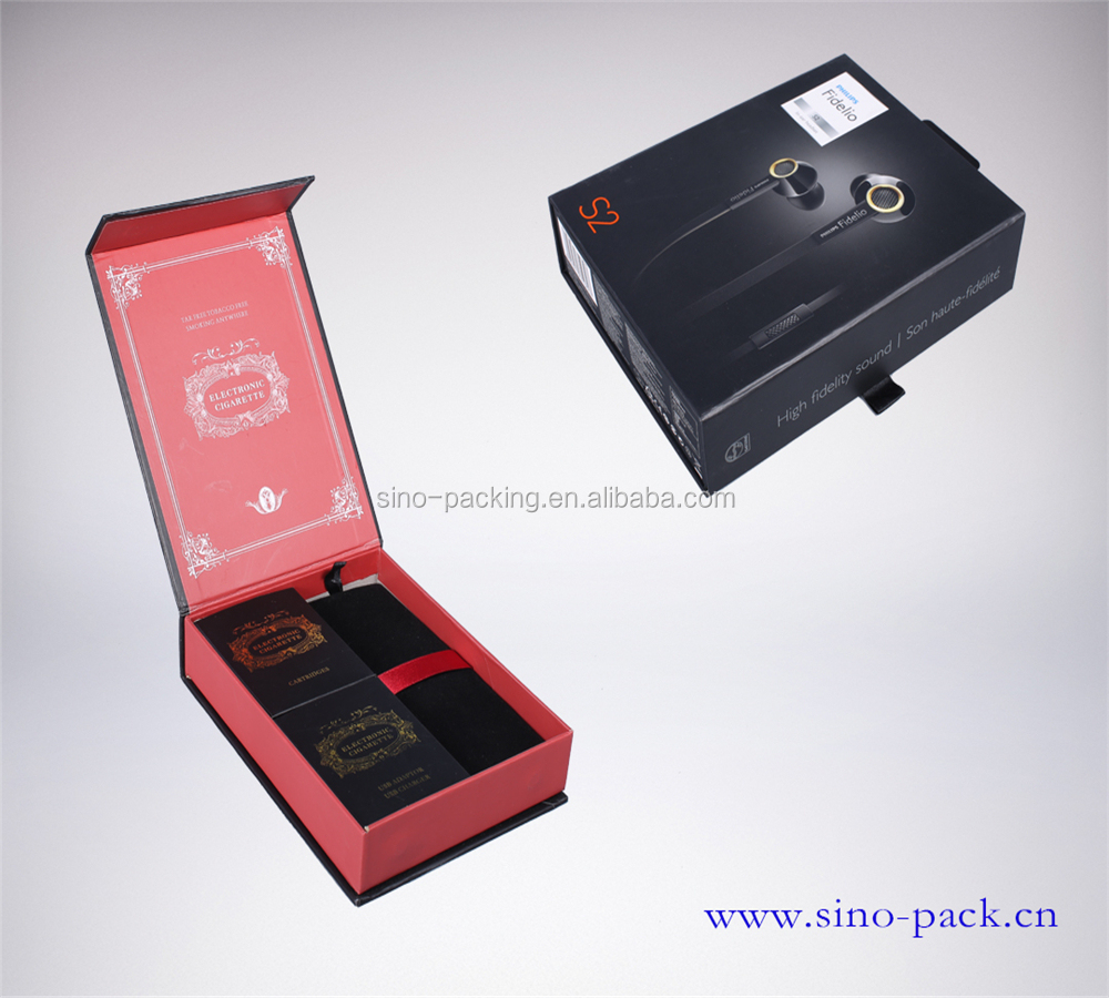 handmade luxury cardboard packing box for electronic cigarette