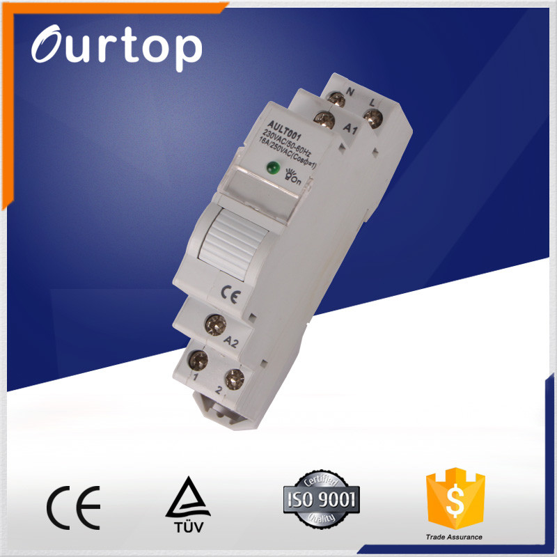 High power contact latching relay
