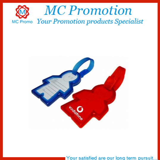 Factory price PVC silicone 3D luggage tag