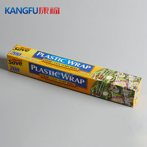 Keep Food Fresh Eco friendly Transparent Biodegradable PE Cling Film for Food
