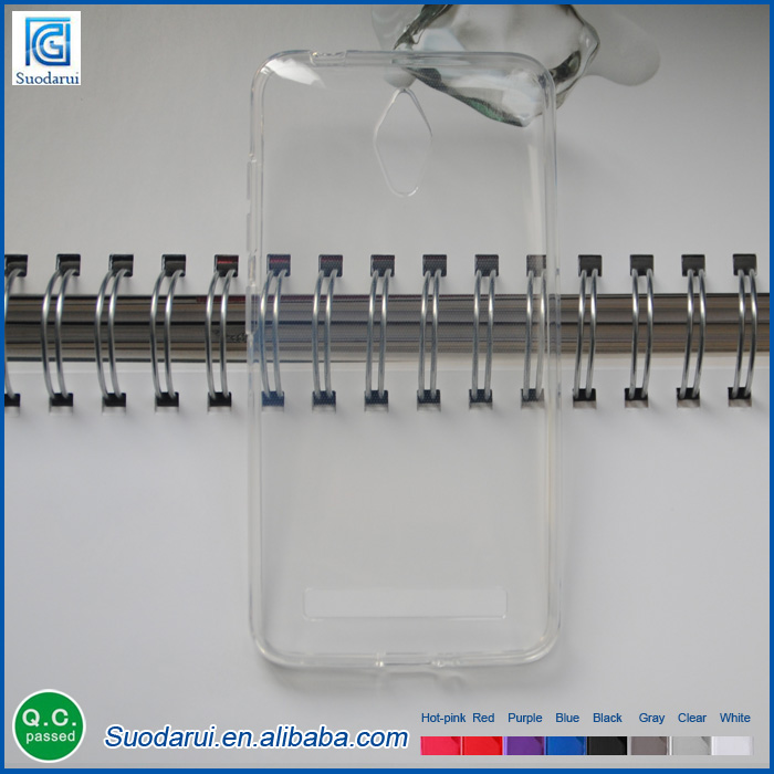 Mobile Phone TPU Case For ASUS Zenfone GO Transparent Clear Gel Soft Silicon Case
