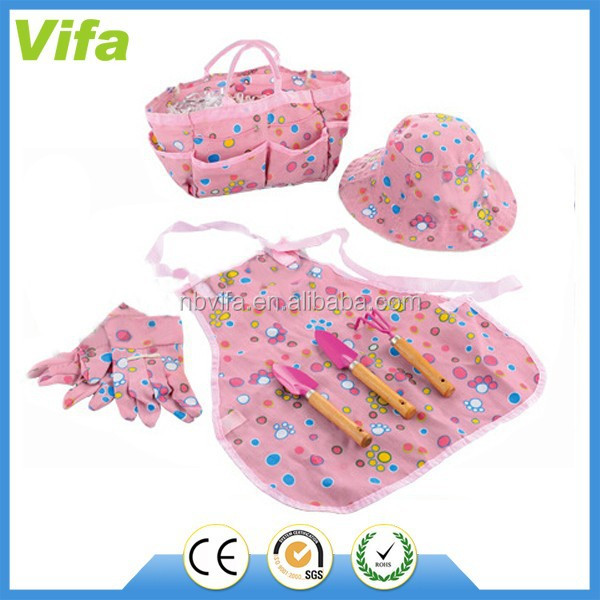 Kids Cartoon Garden Tools Set With Apron For Girls   Buy Kids Garden Tools  Set With Apron,Garden Tools Set For Kids,Cartoon Garden Tools Set Product  On ...