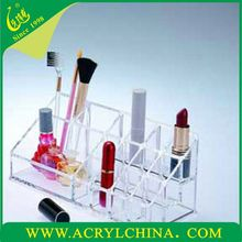 Acrylic cosmetic case with your romantic love