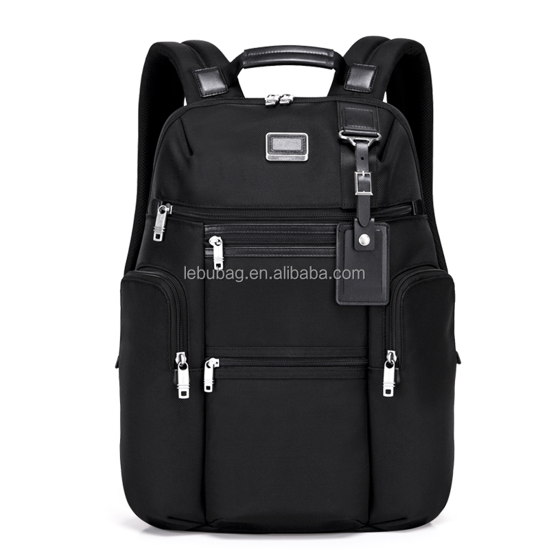 High capacity wear resistant fabric fashion leisure shoulder backpack casual waterproof laptop backpack bag