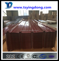 hot sale China supplier prime curve corrugated sheet steel Tangshan