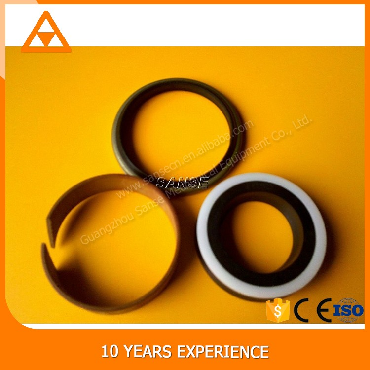Track adjuster hydraulic cylinder seal kit for excavator mechanical nok oil seals