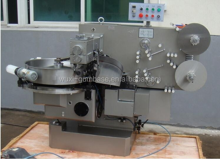 Caramel candy double twist wrapping machine