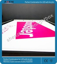 Advertising Light Box Drawing Acrylic Taxi Top Abs Material