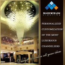 Big hotel engineering lamps chandelier floor lamp closeout